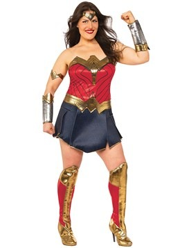 Women's Wonder Woman Plus Size Costume