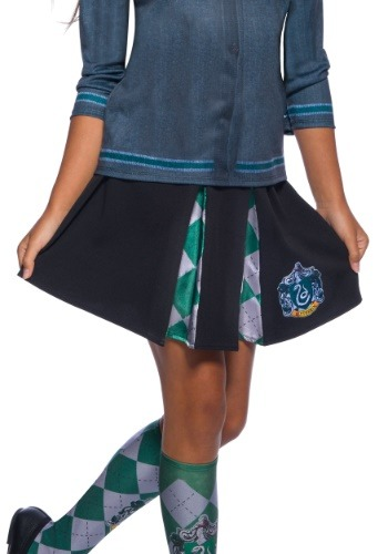 Child Slytherin Skirt
