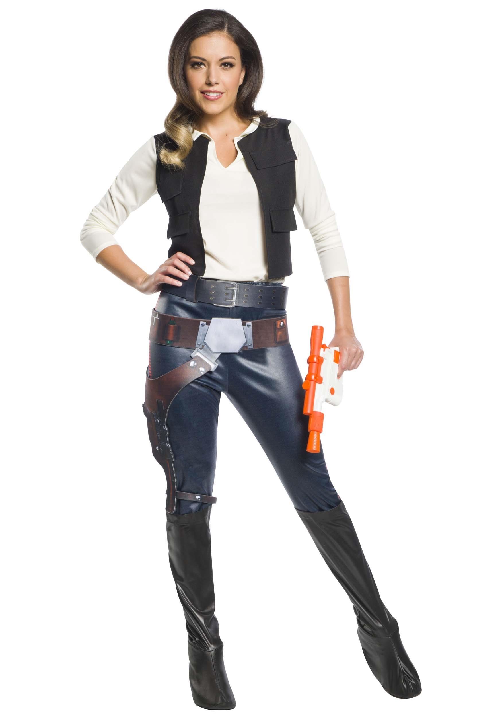 Star Wars Han Solo Costume For Women-1939