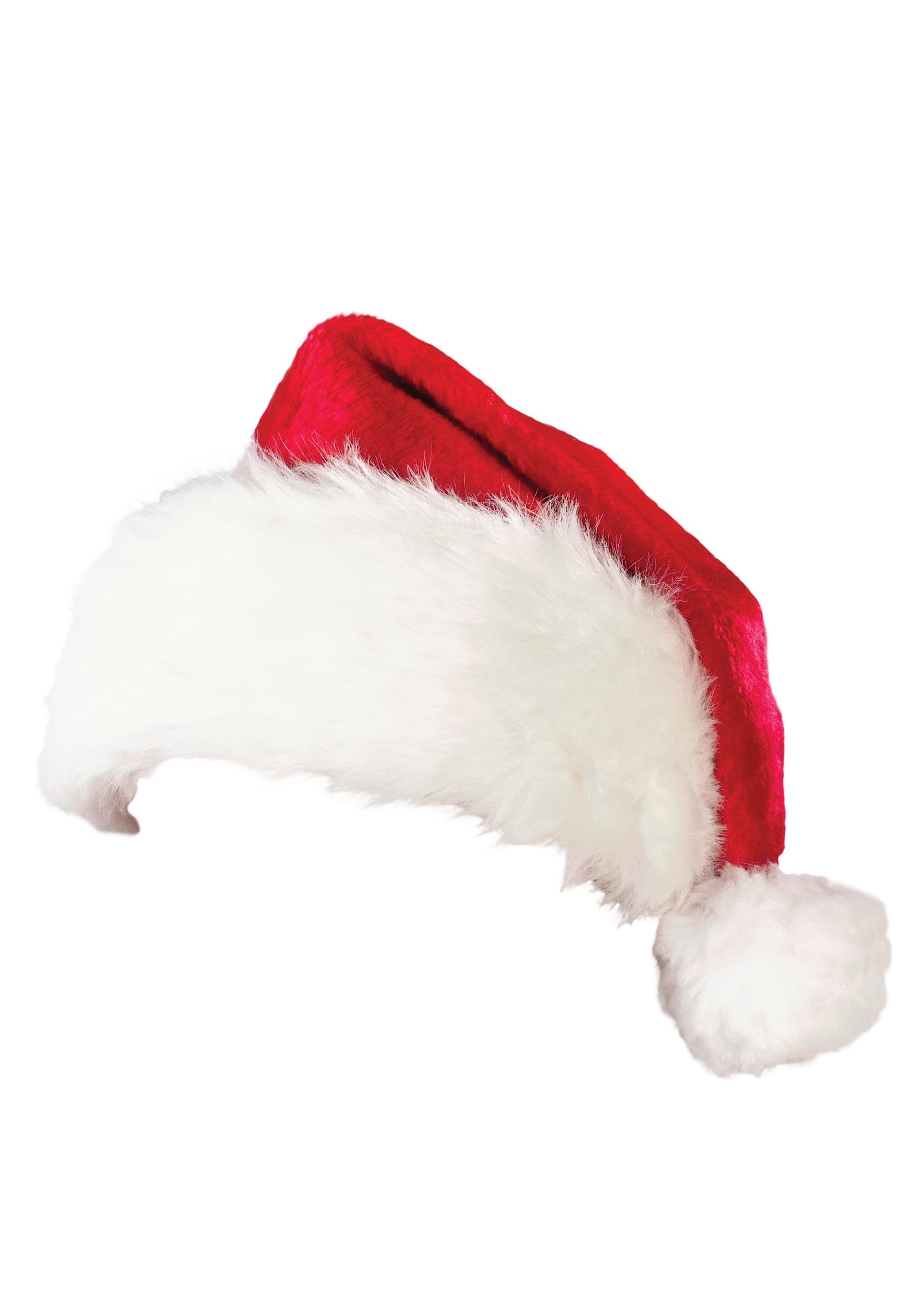 Christmas Hat.Supreme Plush Santa Hat