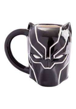Marvel Black Panther Sculpted Ceramic Mug