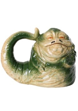 Star Wars Jabba The Hutt 20 oz Sculpted Ceramic Mug