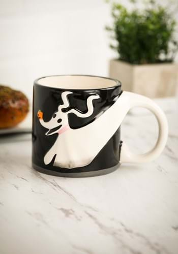 Nightmare Before Christmas Zero Sculpted Ceramic Mug