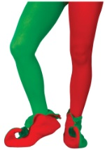 Red and Green Holiday Tights