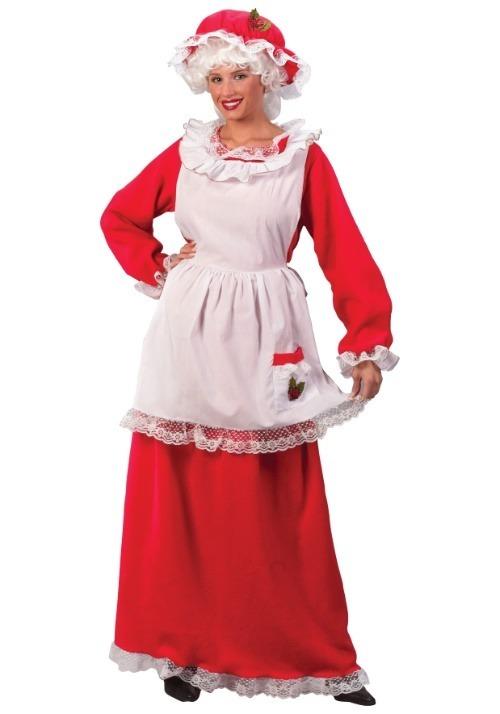 Women's Mrs Claus Costume