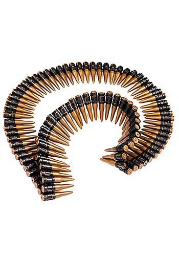 Molded Gold Bullet Belt