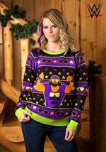 Adult WWE Macho Man Ugly Christmas Sweater alt1