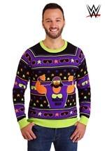 Adult WWE Macho Man Ugly Christmas Sweater alt3