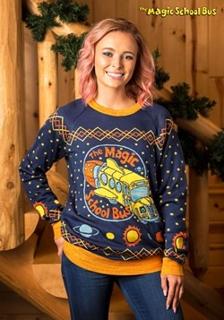 Adult Magic School Bus Ugly Christmas Sweater update