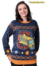Adult Magic School Bus Ugly Christmas Sweater logo