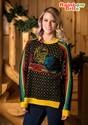 Women's Hi-Lo Rainbow Brite Ugly Christmas Sweater