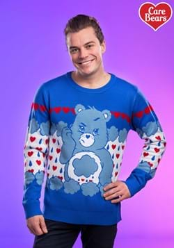 Adult Grumpy Bear Care Bears Ugly Christmas Sweater update
