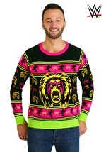 Adult WWE Ultimate Warrior Ugly Christmas Sweater alt2