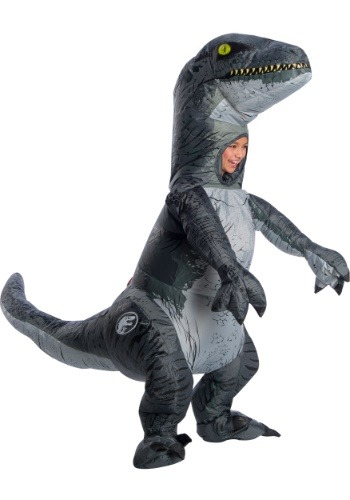 "Kid's Jurassic World 2 Inflatable ""Blue"" Velociraptor"