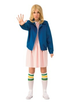Eleven Adult Stranger Things  Blue Jacket Costume