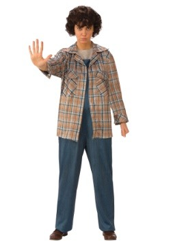 Eleven Adult Stranger Things Plaid Shirt
