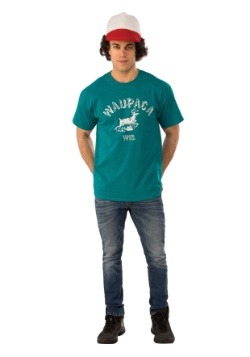 Dustin Adult Stranger Things Waupaca Shirt