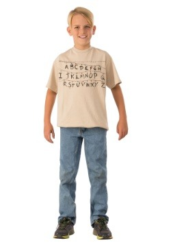 Alphabet Child Stranger Things Shirt