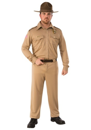 Jim Hopper Adult Stranger Things  Costume