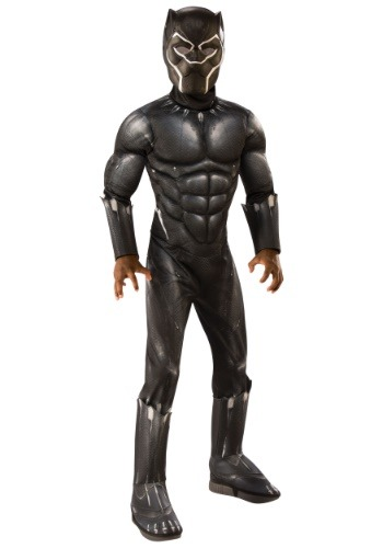 Deluxe Child Black Panther Costume