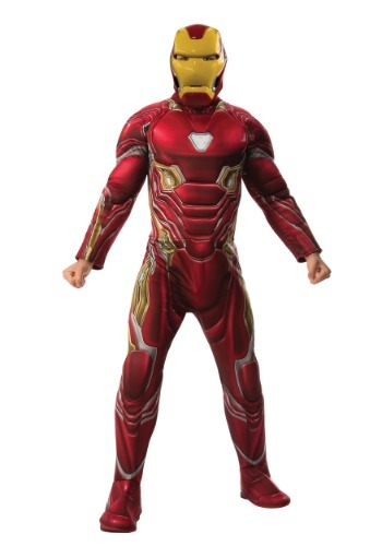 Marvel Infinity War Adult Deluxe Iron Man Costume