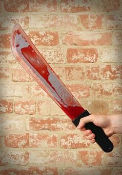 Bleeding Machete Knife