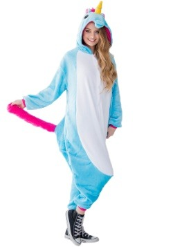 Adult Kigurumi Teal Unicorn Yumio