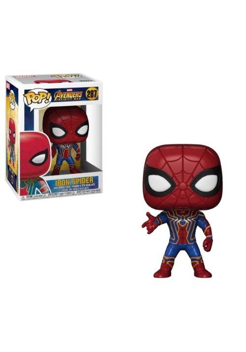 Pop Marvel Avengers Infinity War Iron Spider
