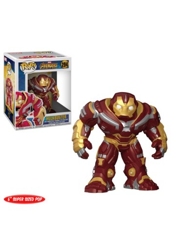 """POP! Marvel: Avengers Infinity War 6"""" Hulkbuster Bobblehead"""