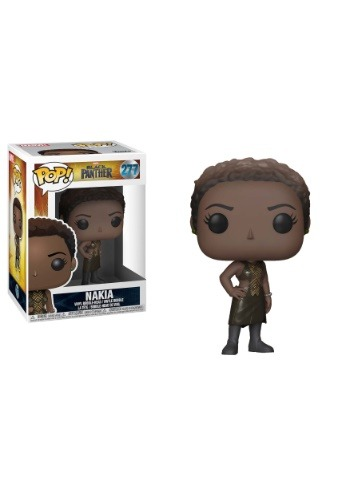 POP! Marvel: Black Panther Nakia Bobblehead Figure