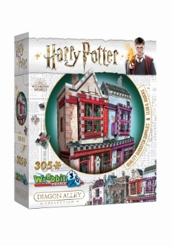 Harry Potter Diagon Alley 3D Collection- Quality Quiditch Al