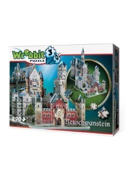 Neuschwanstein Castle Wrebbit 3D Jigsaw Puzzle 3