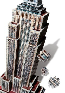 Empire State Building Wrebbit 3D Jigsaw Puzzle 2