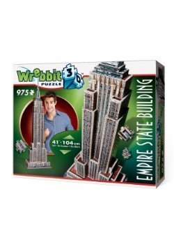 Empire State Building Wrebbit 3D Jigsaw Puzzle 3