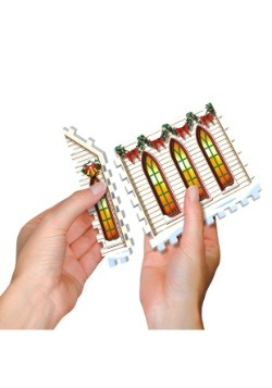 Christmas Village 3D Jigsaw Puzzle- 5 Building Collection 3