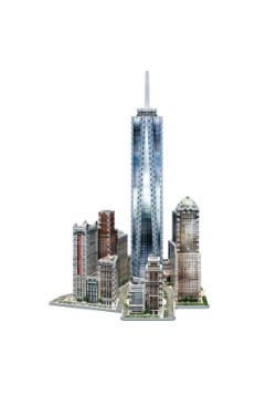 New York Collection - World Trade Center Wrebbit 3D Jigsaw 2
