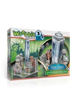 New York Collection - World Trade Center Wrebbit 3D Jigsaw 3