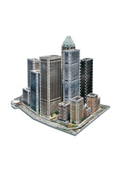 New York Collection - Financial District Wrebbit 3D Puzzle 2