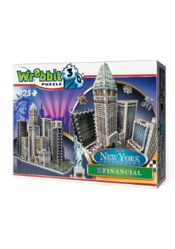 New York Collection - Financial District Wrebbit 3D Puzzle 3