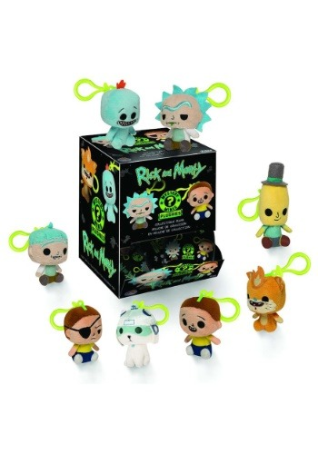 Rick & Morty Blind Bag Keychain Plush