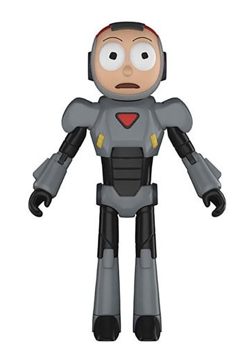 Rick & Morty- Purge Suit Morty Action Figure