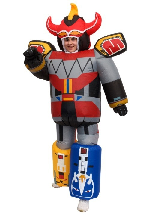 Inflatable Power Rangers Megazord Adult Costume