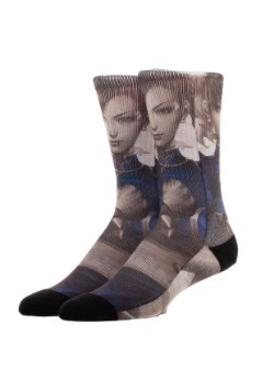 Chun-Li Street Fighter Sublimated Socks 2