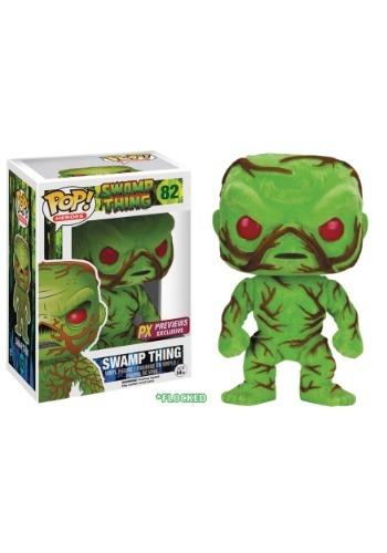 Funko POP! DC Heroes Swamp Thing Flocked Vinyl Figure