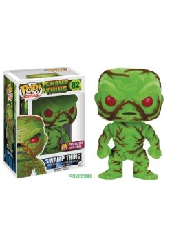 Funko POP! DC Heroes Swamp Thing Flocked Vinyl Figure