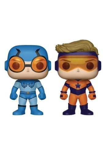 POP! Heroes Booster Gold & Blue Beetle Vinyl Figures 2 Pack