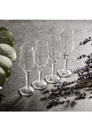 Champagne Set of 4 Shot Glasses