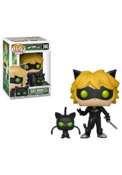 POP! And Buddy: Miraculous: Cat Noir with Plagg Vinyl Figure