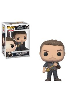 Pop! Movies: Jurassic World 2- Owen Grady Figure