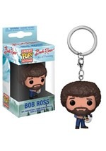 Bob Ross POP Keychain: TV